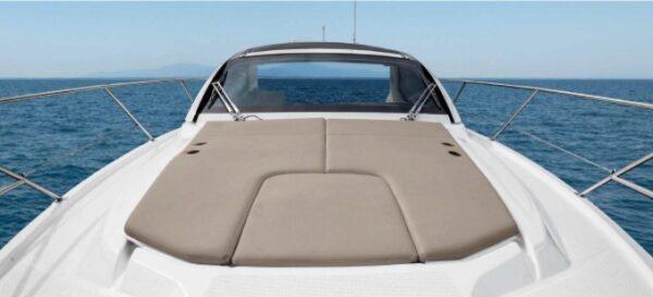 sun deck motor boat