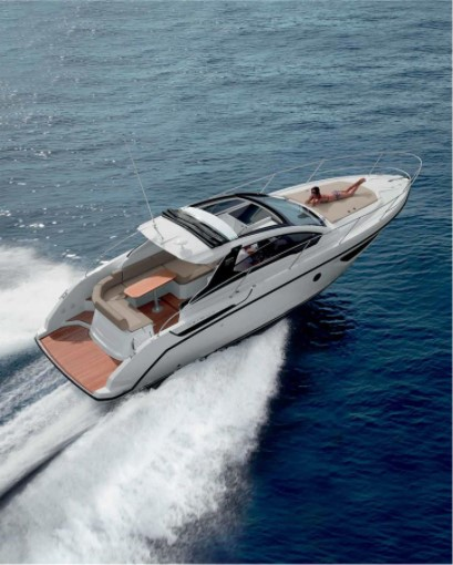 motor yacht on water