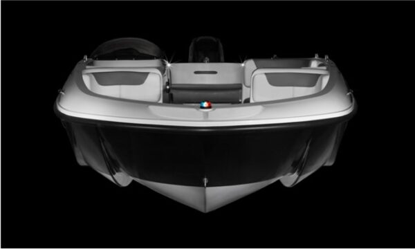 front view of a boat
