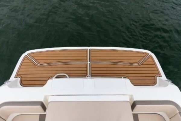back deck of the boat