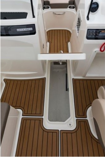 small storage on a boat