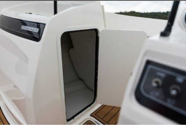 small storage of the boat
