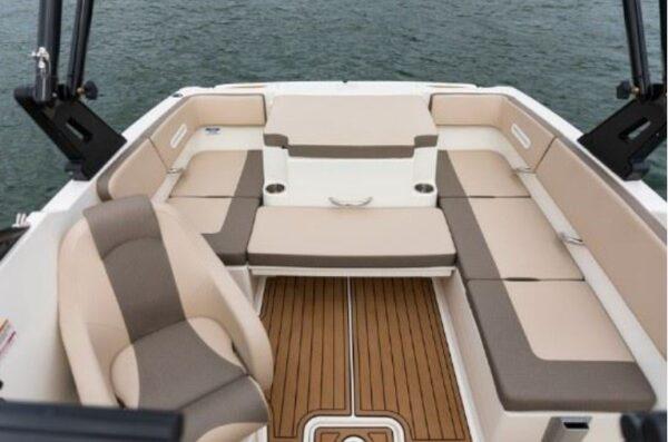 driver's seat and mini lounge