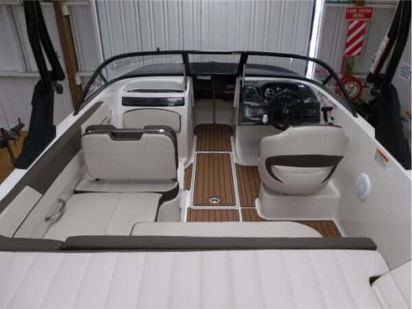 driver's lounge on a yacht