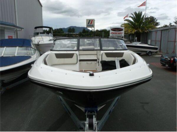 mini sun deck of a yacht