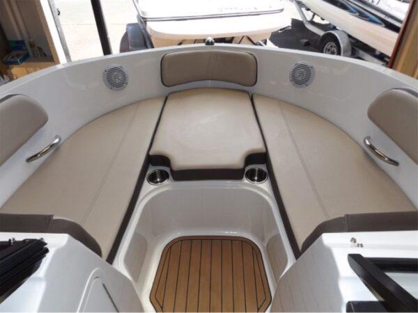 mini sun deck on a boat