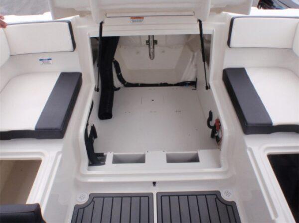 motor boat engine storage