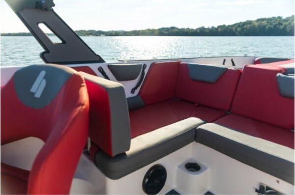 mini lounge on a yacht