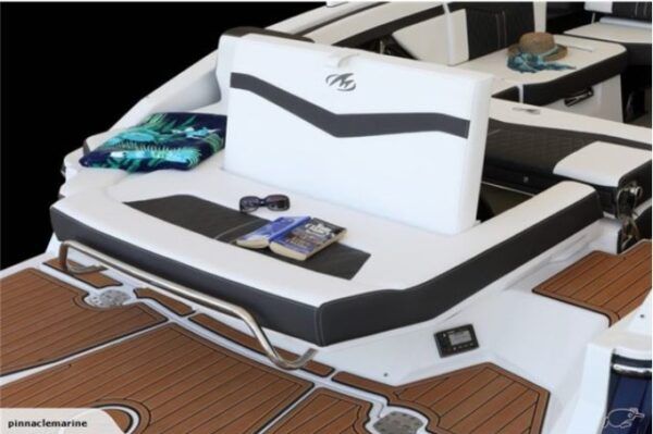 small deck on a boat