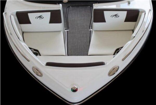 two mini seat on a boat
