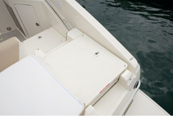 two storage on a boat