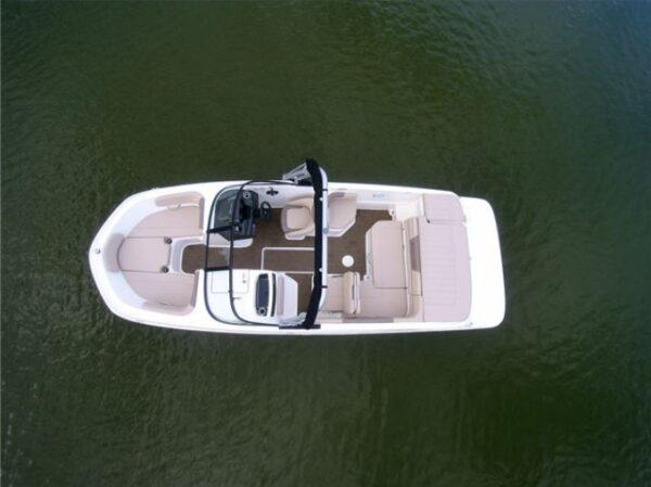 a yacht on lake
