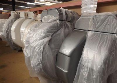 storage of boat fenders