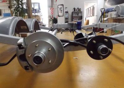 two wheel hub bearing