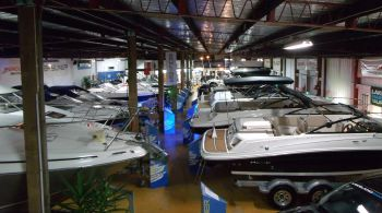 indoor boat parking garage