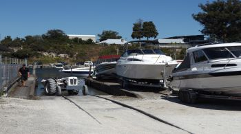 boats parked in the